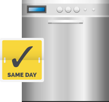 KMR Brookswood Appliance Service offers same-day dishwasher installation